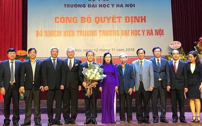 Trường Đại học Y Hà Nội có tân Hiệu trưởng - ảnh 1