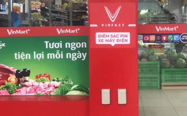VinFast công bố hình trạm sạc tại cửa hàng VinMart+, tiết lộ kế hoạch mở rộng khắp Hà Nội và TP HCM