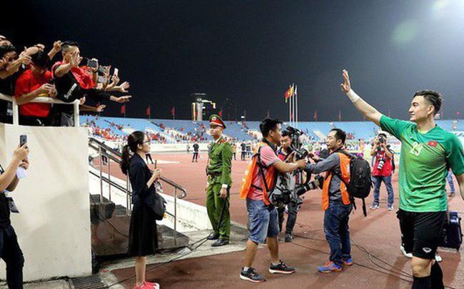 Thủ môn Đặng Văn Lâm chia sẻ tâm tư sau lần thứ 2 thủng lưới tại AFF Cup 2018