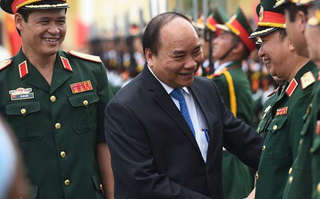 Thủ tướng: Xây dựng quân đội hùng mạnh, bảo vệ vững chắc Tổ quốc