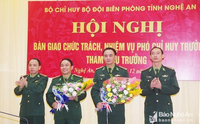 Nghệ An bổ nhiệm Phó chỉ huy trưởng, Tham mưu trưởng Bộ đội Biên phòng