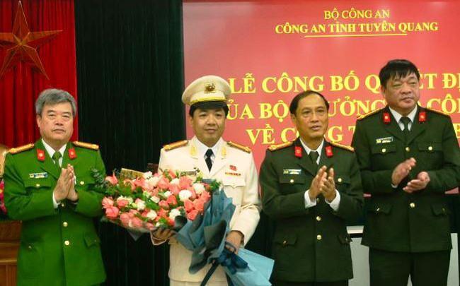 Công an tỉnh Tuyên Quang có thêm Phó Giám đốc