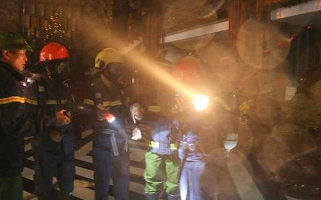 100 người tham gia dập tắt đám cháy ở quán karaoke lớn nhất Quảng Trị
