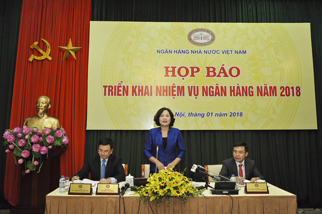 Phó Thống đốc Nguyễn Thị Hồng: Mục tiêu tăng trưởng tín dụng đạt 17% năm 2018