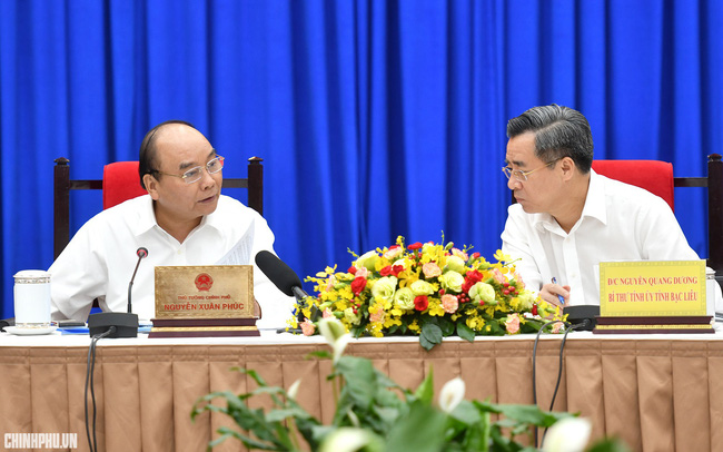 Thủ tướng cho ý kiến về dự án tỷ đô của Bạc Liêu
