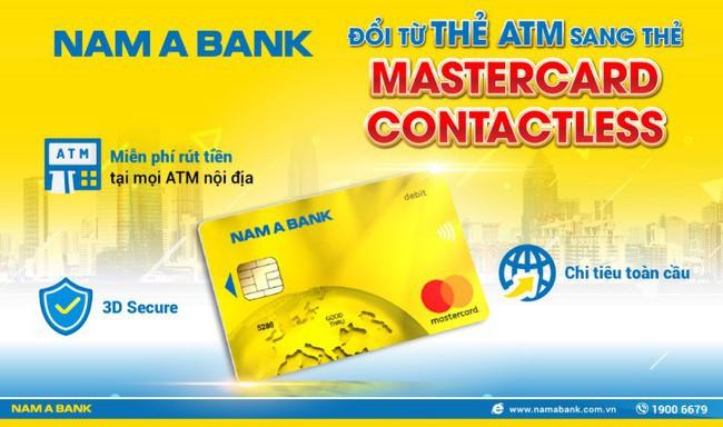 Nam A Bank Mastercard Contactless – chạm là thanh toán