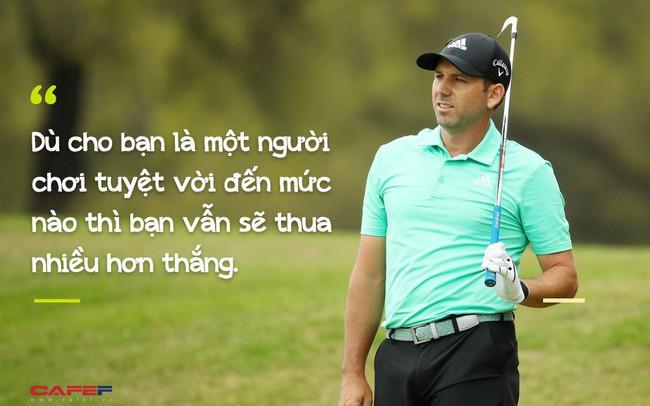 Golf thủ chuyên nghiệp Sergio Garcia: Thành công không phải chỉ là Chiến thắng