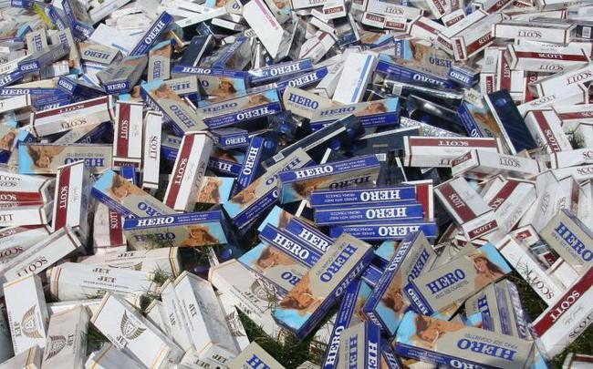 Thu giữ hơn 13.000 bao thuốc lá điếu nhập lậu