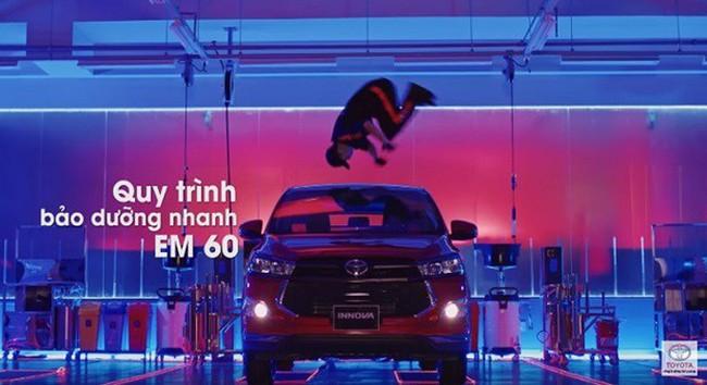 Chia sẻ của Việt Max: Đằng sau clip quảng cáo Dịch vụ bảo dưỡng nhanh EM60 của Toyota