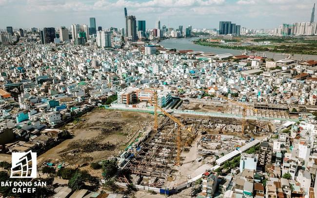 Cận cảnh dự án khu đất vàng tại Quận 4 của Sabeco HP có nguy cơ bị thu hồi