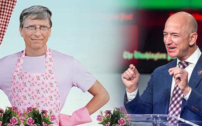 """Giàu """"nứt đố đổ vách"""" nhưng Bill Gates và Jeff Bezos vẫn chịu khó tự tay làm việc này, vậy mà không ít người lại đang coi nhẹ và lãng phí lợi ích cực lớn đằng sau nó"""