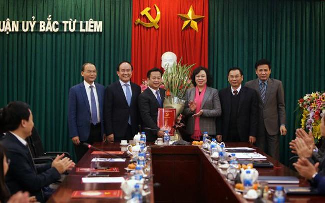 Hà Nội điều động nhân sự quận ủy Bắc Từ Liêm
