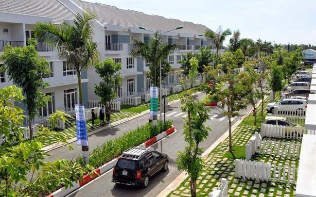 Thị trường nhà phố, biệt thự tại Tp.HCM suy yếu