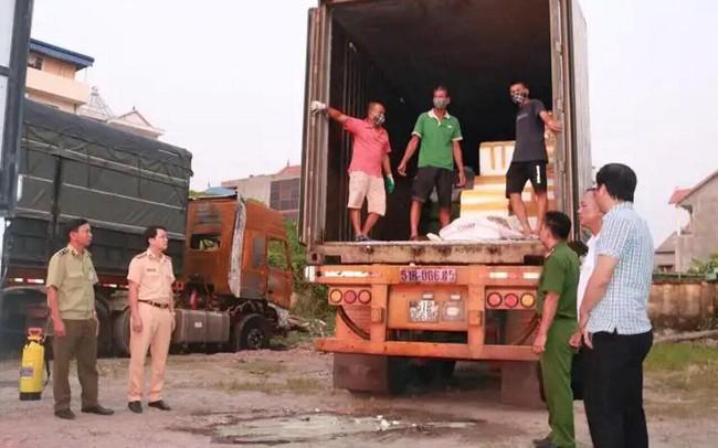 Tiêu hủy 6 tấn lòng lợn nhiễm virus dịch tả lợn Châu Phi suýt ra thị trường