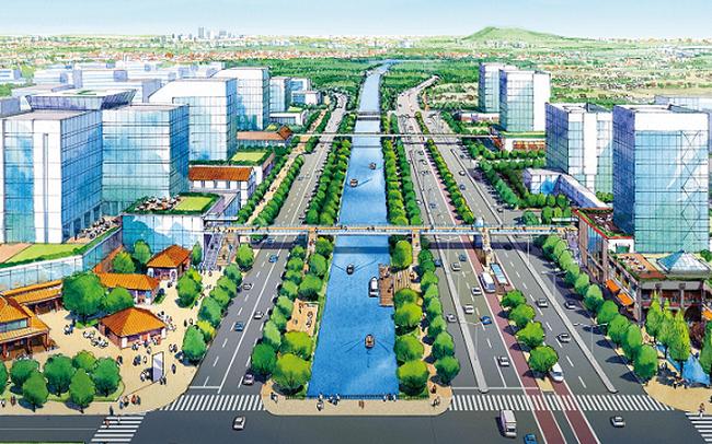 Xây siêu đô thị sinh thái gần 1.700ha tại Bắc Ninh