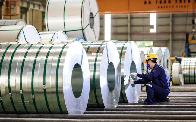 Việt Nam áp thuế cao nhất 34,27% đối với một số sản phẩm thép phủ màu nhập khẩu từ Trung Quốc và Hàn Quốc