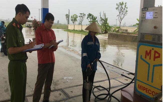 Xử phạt 100 triệu đồng đối với cây xăng vi phạm chất lượng tại Thanh Hóa