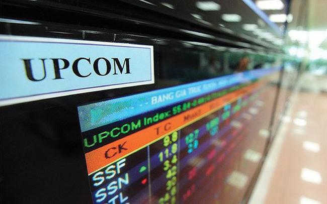 Hàng loạt cổ phiếu trên sàn UPCom bất ngờ bị sai giá tham chiếu trong sáng 31/10