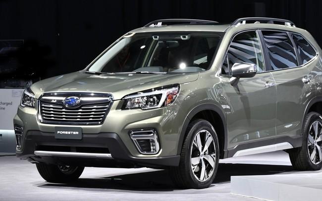 Triệu hồi 168 xe Subaru Forester tại Việt Nam do lỗi đai ốc