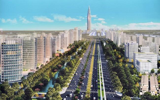Hà Nội chuẩn bị xây tòa tháp 108 tầng trong khu đô thị thông minh bậc nhất Việt Nam