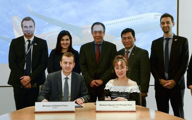 Vietjet đặt mua tiếp 20 tàu bay tầm xa A321XLR và 2 buồng lái mô phỏng để đào tạo phi công