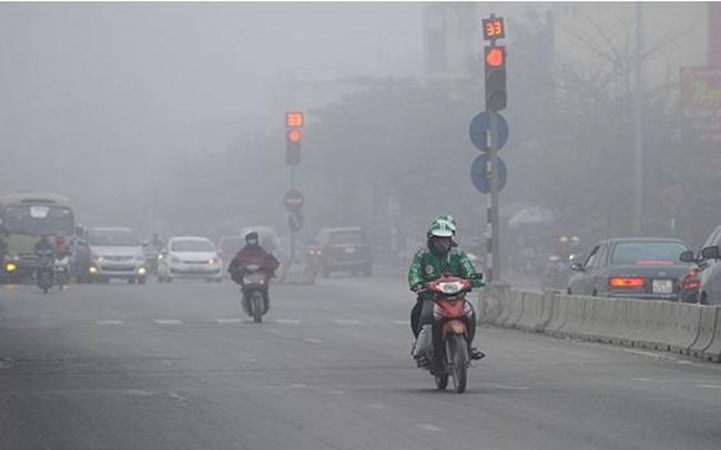 Ô nhiễm không khí lại tái diễn khắp miền Bắc