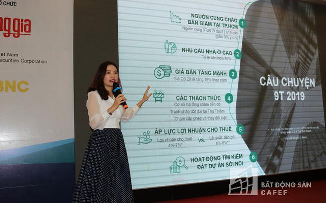Chuyên gia CBRE Việt Nam: Thị trường BĐS chưa có