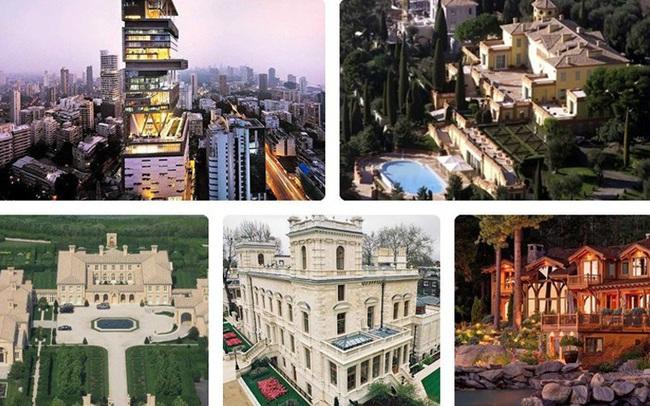Ngắm những siêu biệt thự đắt nhất thế giới của các tỷ phú