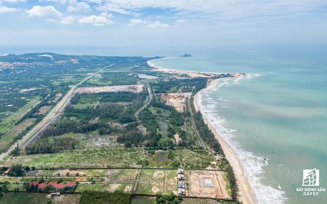 Toàn cảnh cung đường nghìn tỷ ven biển Bình Thuận, nơi đang thu hút mạnh dòng vốn đầu tư dự án lớn
