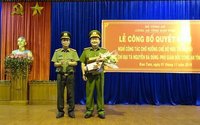 Hai Phó Giám đốc Công an tỉnh Kon Tum được bổ nhiệm chức danh mới