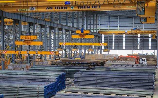 Thép từ Dung Quất cung ứng ra thị trường, sản lượng miền Nam của Hòa Phát tăng 91% cùng kỳ năm trước