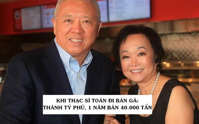 Học toán và kỹ thuật nhưng lại đam mê bán thịt gà sốt cam, cặp đôi trở thành tỷ phú USD sở hữu chuỗi 2.200 nhà hàng, 1 năm bán được 40.000 tấn sản phẩm!