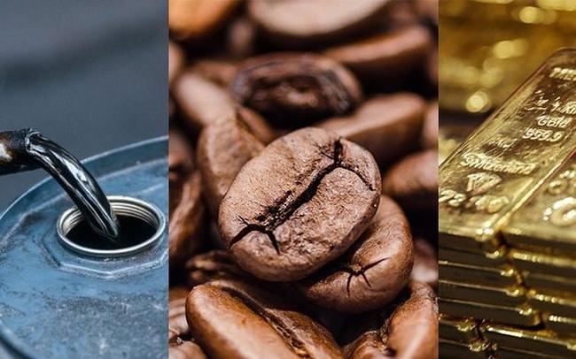 Thị trường ngày 12/12: Giá vàng, đồng, quặng sắt, cà phê đồng loạt tăng cao, dầu giảm gần 1%