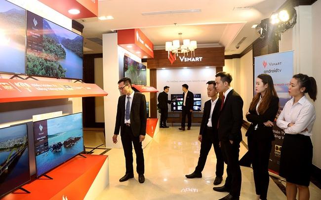VinSmart ra mắt 5 mẫu ti vi thông minh chạy hệ điều hành Android TV, giá bán từ 8,69 triệu đồng
