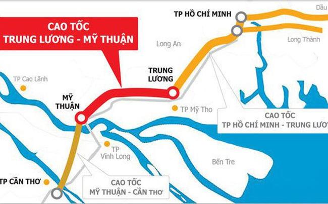 CII thông báo sắp nhận được 2.200 tỷ đồng từ Bộ Tài chính bố trí cho BOT Trung Lương - Mỹ Thuận