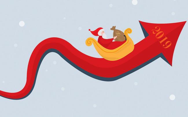 Chứng khoán Mỹ đón tuần Giáng sinh rực rỡ, các chỉ số lớn liên tục phá đỉnh