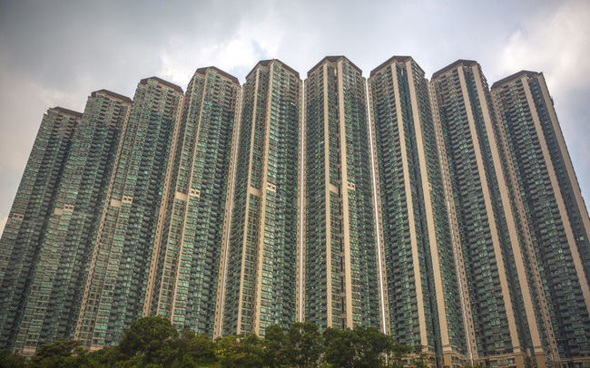 Bên trong những tòa nhà chọc trời ở Hongkong