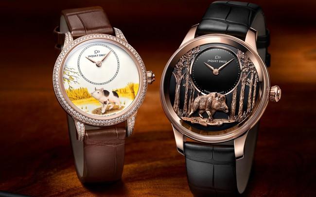 7 mẫu đồng hồ bạc tỷ chào đón năm Kỷ Hợi dành cho giới thượng lưu
