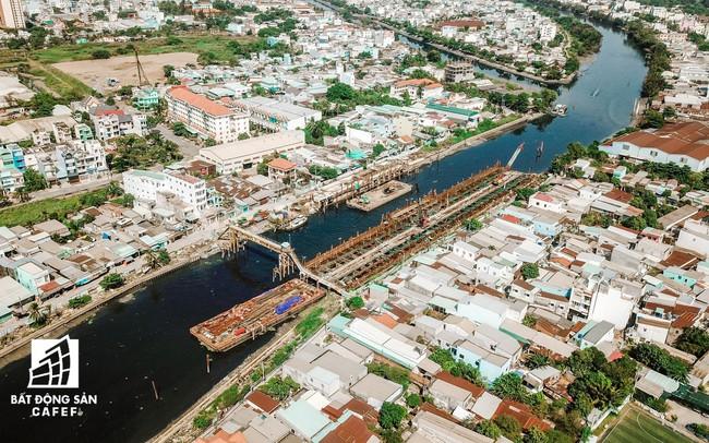 Dự án chống ngập 10.000 tỷ đồng tại TP.HCM dự kiến hoàn thành vào cuối 2019