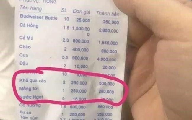 """Nha Trang: Liên tiếp những hóa đơn """"chặt chém"""" ngày Tết được tung lên"""