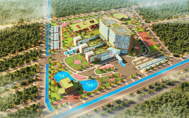 Tập đoàn FLC khởi công bệnh viện Đa khoa Quốc tế 1.000 giường tại Thái Bình - ảnh 1