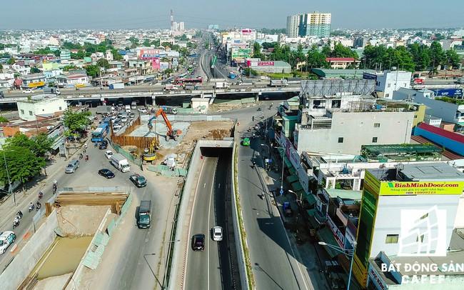 TP.HCM: Dự án hầm chui 3 tầng An Sương tạm ngưng thi công do thiếu mặt bằng