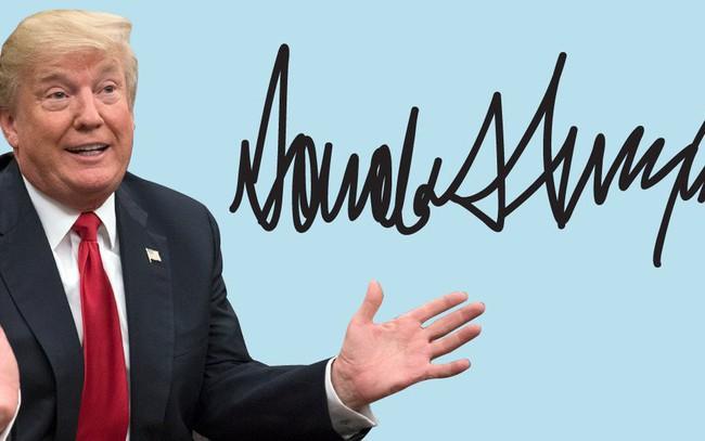 Độc đáo chữ ký của 45 tổng thống Mỹ