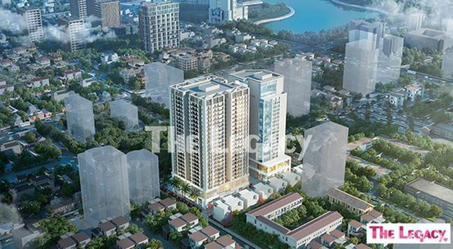 Ra mắt căn hộ cao cấp The Legacy mang tiêu chuẩn Nhật Bản
