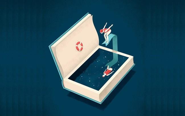 """Đọc hơn 300 cuốn sách trong suốt 7 năm, tôi nhận ra 8 bài học đắt giá về """"kho tri thức nhân loại"""": Đọc nhiều, nhưng chọn nhầm loại sách, chìm đắm trong ảo tưởng thì bạn chỉ mãi dậm chân tại chỗ mà thôi"""
