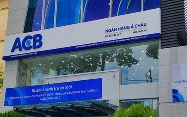 ACB báo lãi trước thuế quý I hơn 1.700 tỷ đồng, nợ xấu giảm về 0,68%