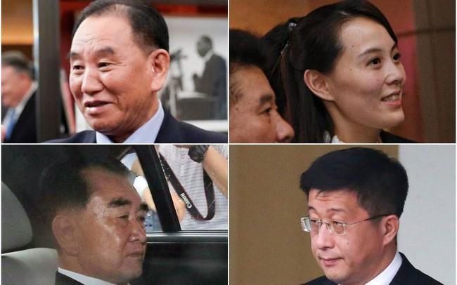 """""""Bộ tứ quyền lực"""" thân cận của chủ kịch Kim Jong Un gồm những ai?"""