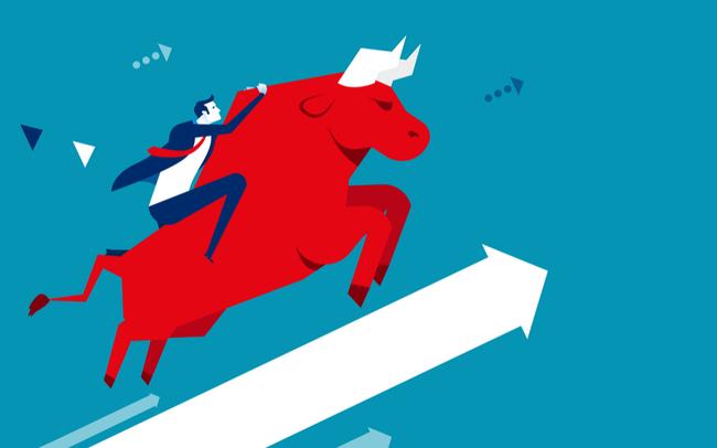 Sắc xanh áp đảo thị trường, Vn-Index có phiên tăng điểm phiên thứ 6 liên tiếp