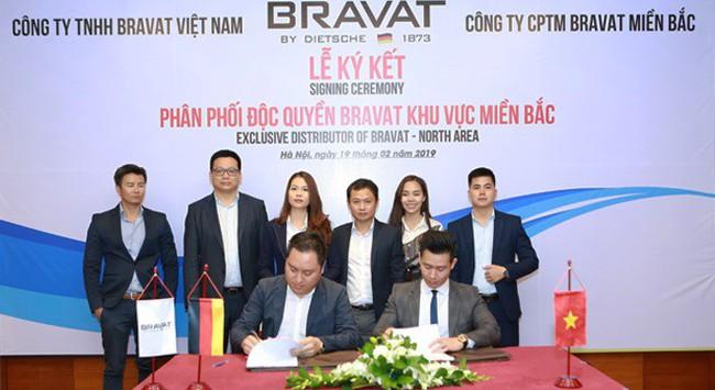 Bravat Miền Bắc chính thức phân phối độc quyền thiết bị vệ sinh cao cấp Bravat