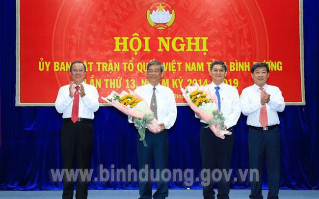 Ông Nguyễn Văn Lộc giữ chức Chủ tịch Ủy ban MTTQ Việt Nam tỉnh Bình Dương